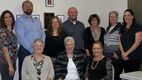 The 2014-2015 MaMHCA Board of Directors