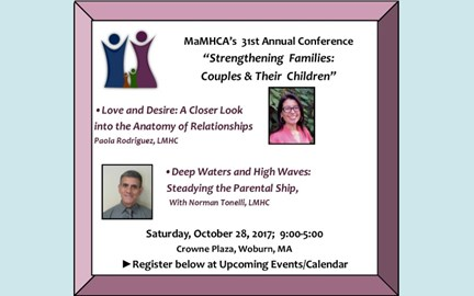 31st Annual Conference Oct. 28th!