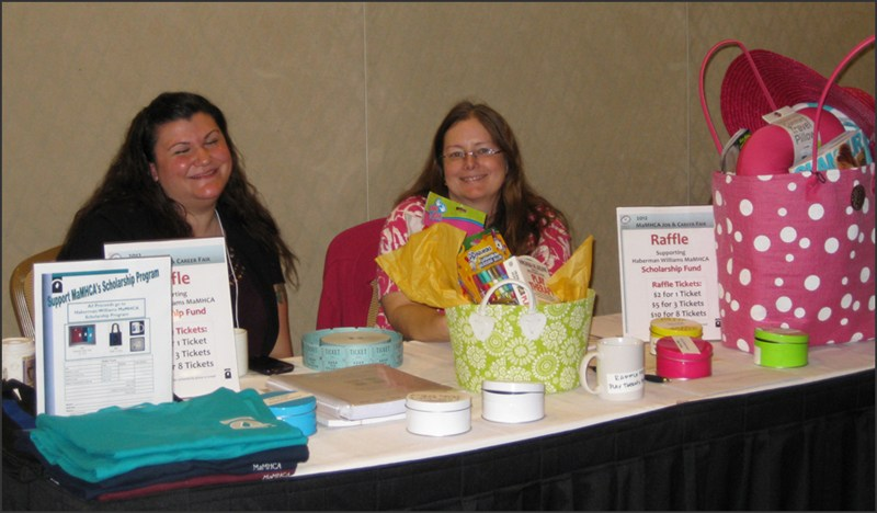 Raffle_Table_2012_Job_Fair
